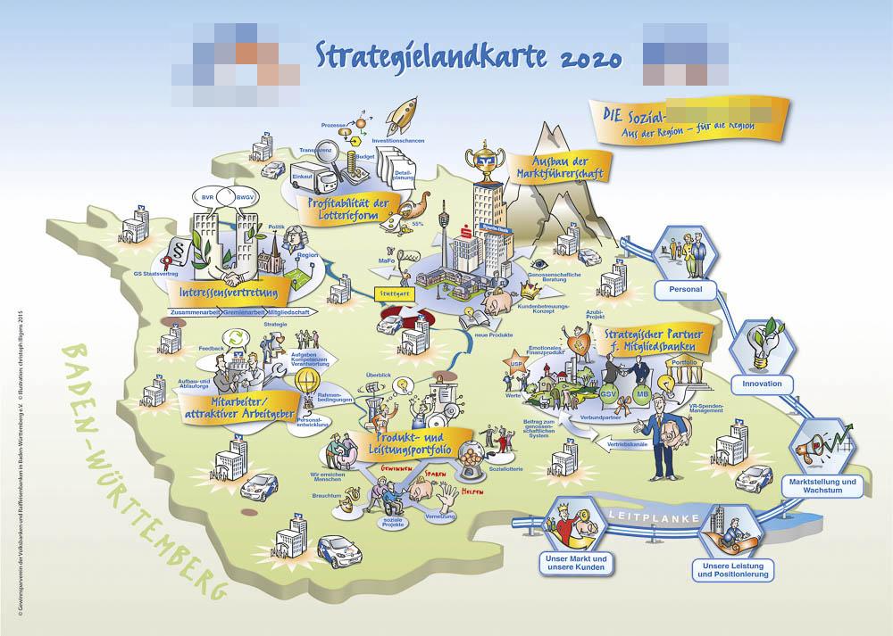 strategielandkarte als beispiel fr strategische kommunikation - Unternehmenswerte Beispiele